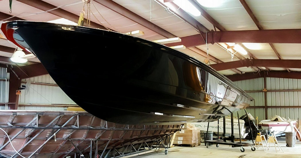 First OCEAN 1 hull launched