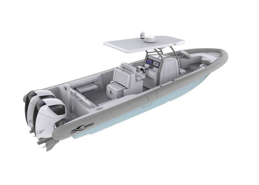 Ocean-1-Rpogue-370-Stern-Side-Profile-Render