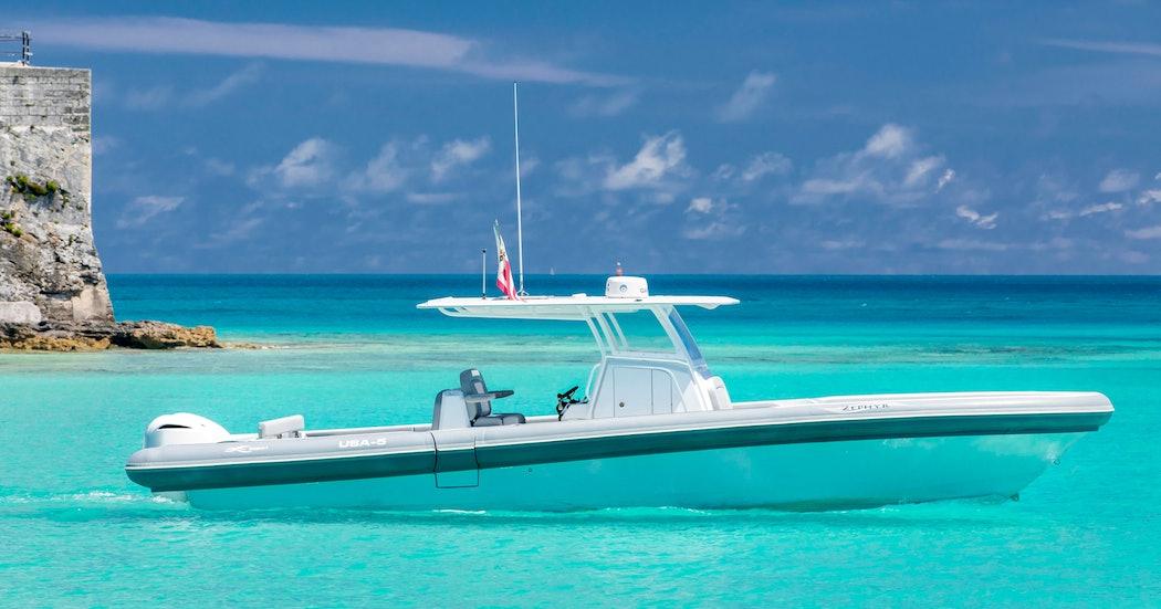 OCEAN 1 Yachts at America's Cup in Bermuda